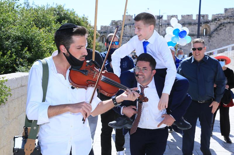 כליזמרים לבר מצווה בירושלים